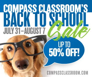 Compass Classroom Back to School Sale 2019