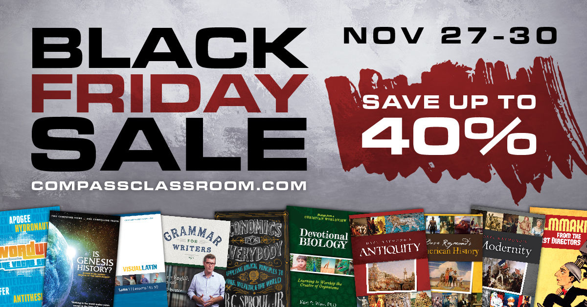 Black Friday 2020 at Compass Classroom