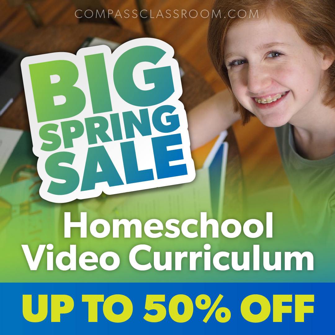Compass Classroom Spring Sale